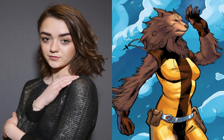 """Arya Stark"" actress Maisie Williams to portray ""Wolfsbane"" in New Mutants film featured image"