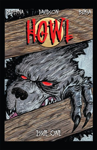 """""""Howl"""", the comic where everyone's a werewolf except a history teacher with a baseball bat featured image"""