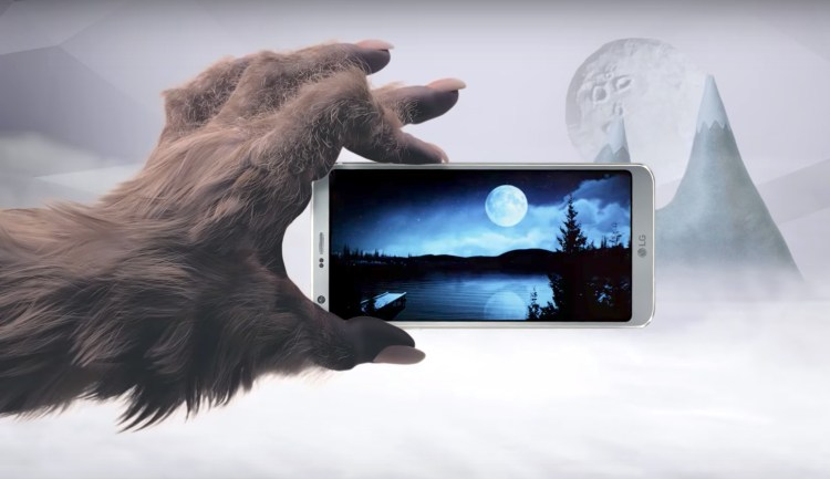 LG G6 commercial shows a smartphone that werewolves can never, ever drop featured image