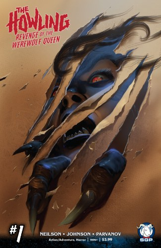 """Comic Review: """"The Howling: Revenge of the Werewolf Queen"""" issue 1 featured image"""