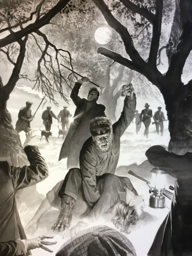 """Best Buy offers exclusive """"Wolf Man"""" SteelBook Blu-ray with cover art by Alex Ross featured image"""