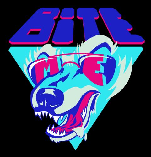 "Manny Aguilera's ""Bite Me"" t-shirt design featured image"