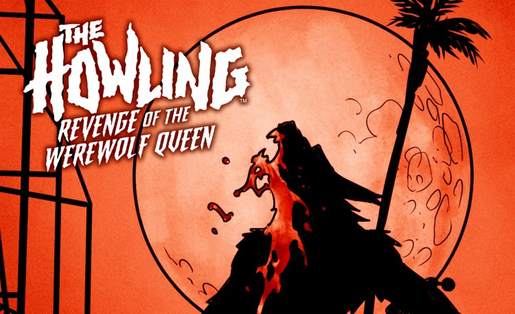 """The Howling: Revenge of the Werewolf Queen"" #2 / #3 covers & pre-orders featured image"