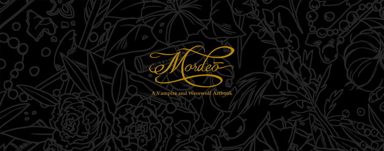 """Now's your chance to get this """"Mordeō"""" werewolf & vampire art book featured image"""
