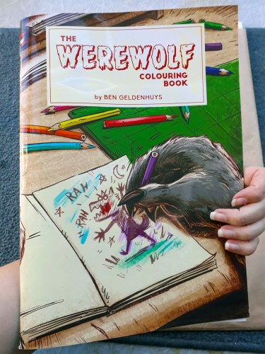 """""""The Werewolf Colouring Book"""" is fun for lycanthropes of all ages featured image"""
