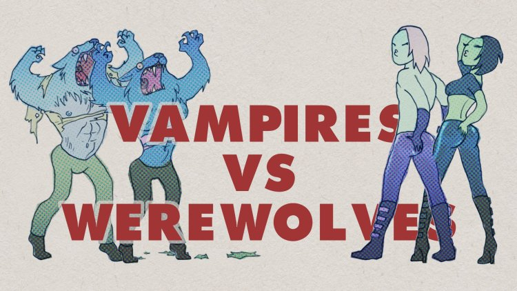 Vampires, werewolves, female CEOs, tight rubber pants and plasticine: a video featured image