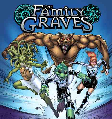 "New comic ""The Family Graves"" explores what would happen if The Incredibles were all monsters featured image"