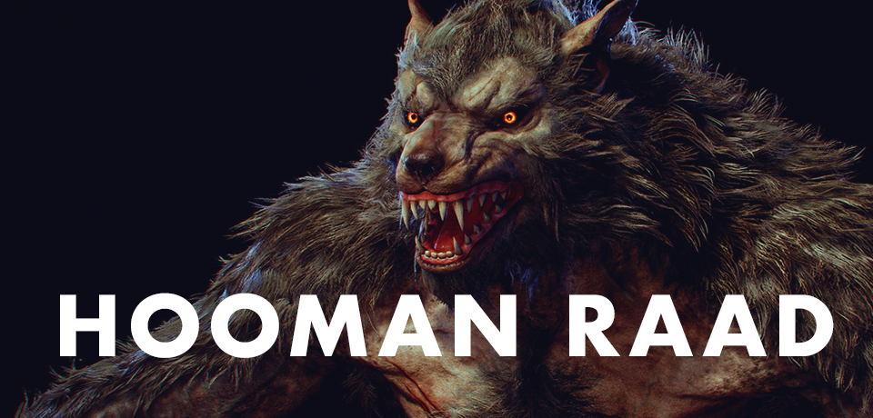 HoOman Raad created this amazing werewolf model in two weeks featured image