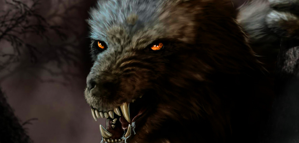 "Time lapse video of ""Lycan"" digital painting by Kirisute Silvermane featured image"