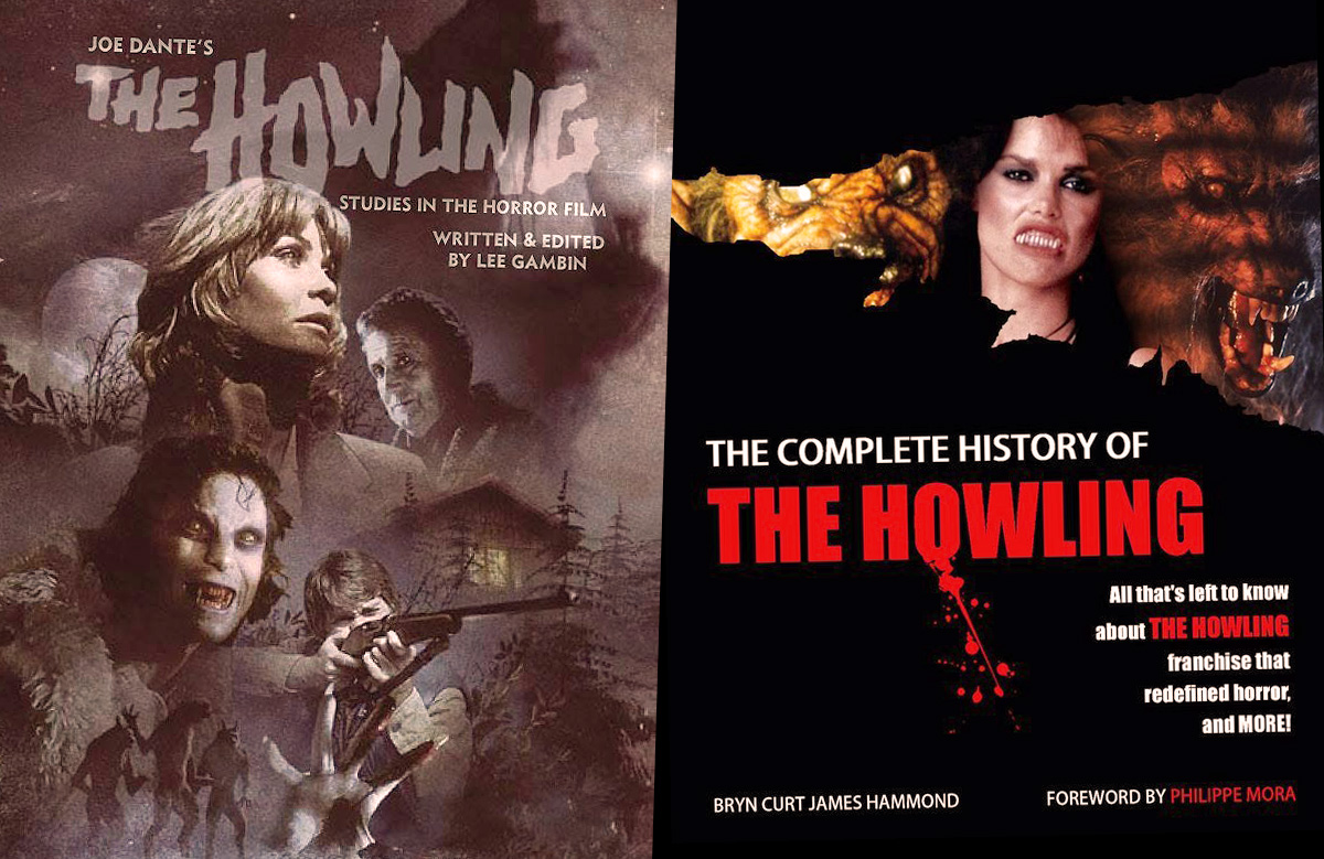 """Joe Dante's The Howling: Studies in the Horror Film"" & ""The Complete History of the Howling"", reviewed featured image"