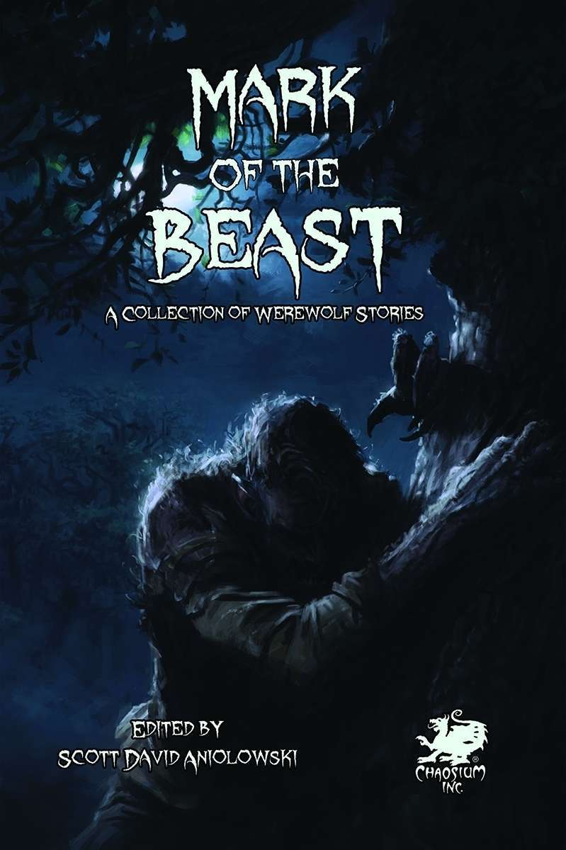 "28 were-creature tales in short fiction anthology ""Mark of the Beast"" featured image"