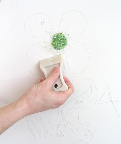 Дизайн жидких обоев в интерьере, рисунки, как нанести ...