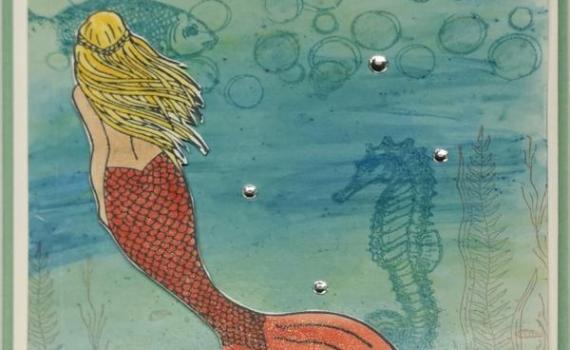 Meerjungfrau Minzmakrone