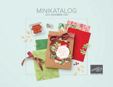 Cover Minikatalog Juli bis Dezember 2021