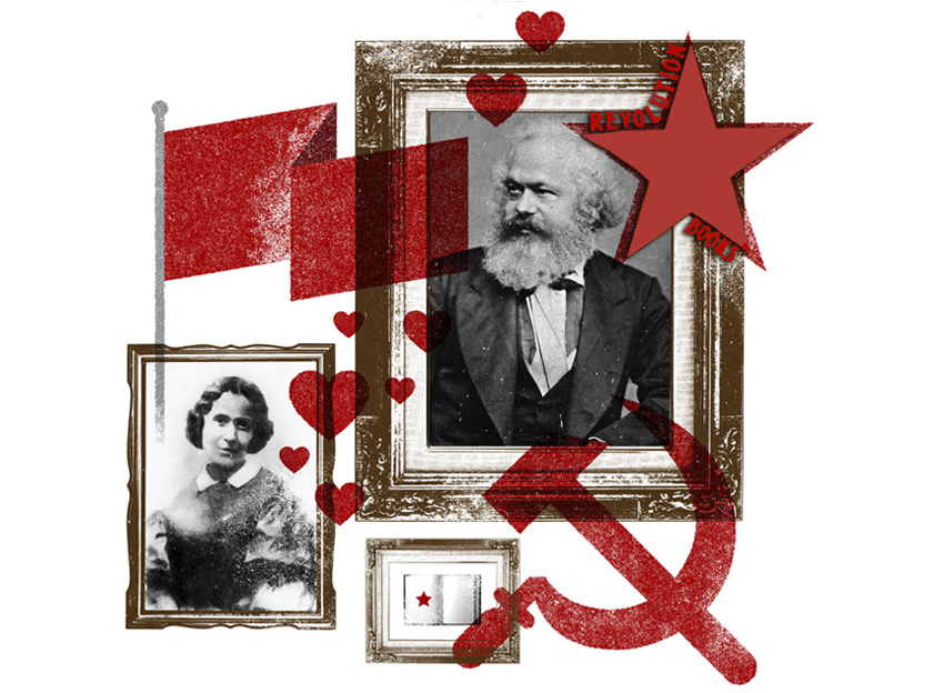 Libros - Amor y capital. Karl y Jenny Marx