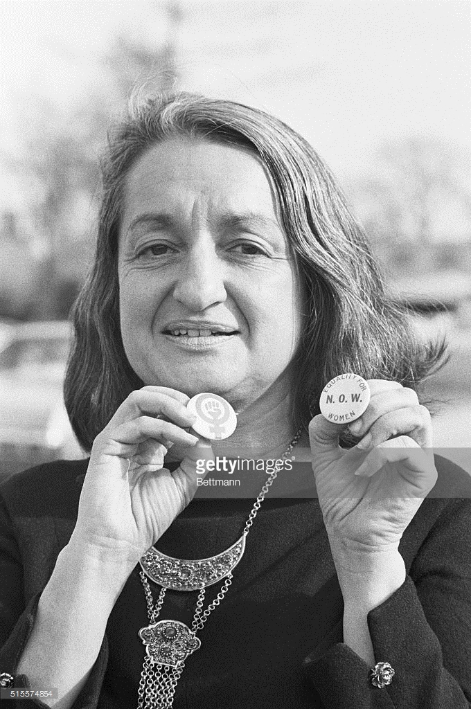 Betty Friedan - Teórica y líder feminista