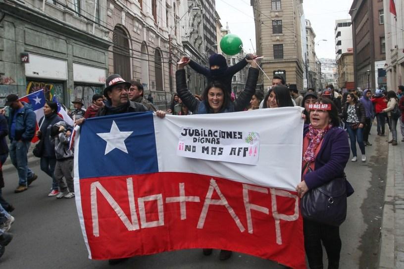 Chile - Las estadísticas de los montos de las pensiones muestran un importante deterioro