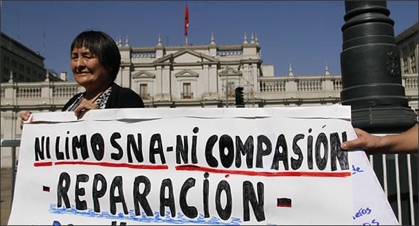 Chile - Ex presos políticos: ¡¡¡EL GOBIERNO MIENTE!!