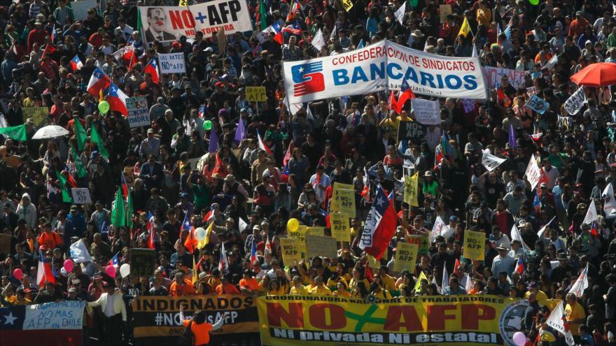 Chile - La Coordinadora Nacional de NO + AFP ha realizado un llamado a protesta para el 30 de noviembre