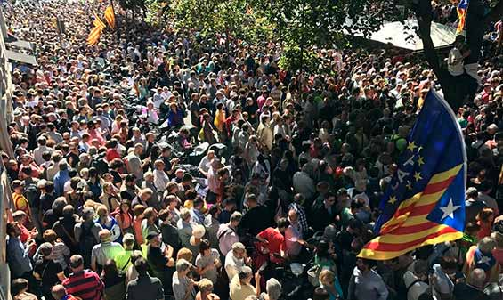 Ofensiva franquista del PP en Catalunya - ¡Para derrotar la represión y defender los derechos democráticos: convocar Huelga General ya!