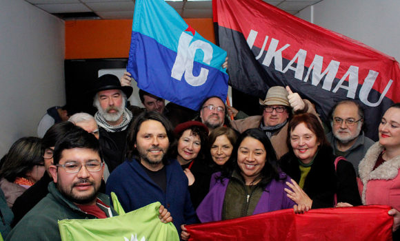 Toda nuestra solidaridad con el pueblo catalán, por el derecho a decidir de los pueblos.