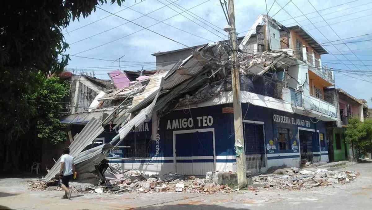 México -La gente que el terremoto movió