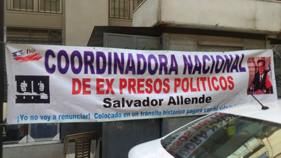 Chile - Presos Polítics desalojados del Instituto Nacional de Derechos Humanos