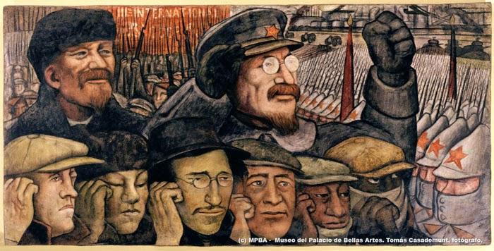 El muralismo y la Revolución Mexicana