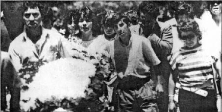 Chile - Claudio Andres Paredes Tapia. 30 años de su muerte