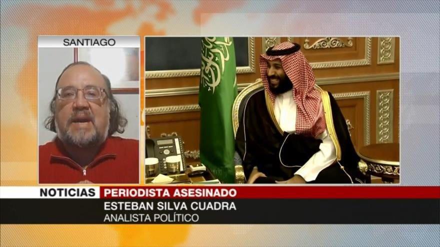 Asesinato del periodista saudí Khashoggi: Un acto de Terrorismo de Estado cometido por agentes de Arabia Saudita. Análisis de Esteban Silva en HispanTV