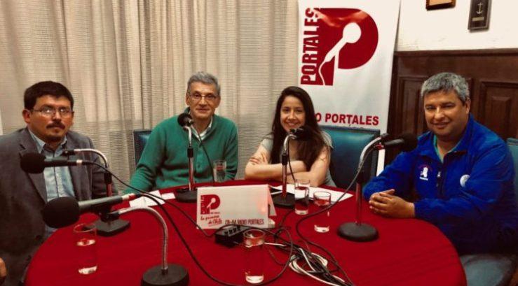 Chile - JORGE SHARP Y LOS TRABAJADORES DEL SITECOVA (EL PORTEÑO EN PORTALES 11)