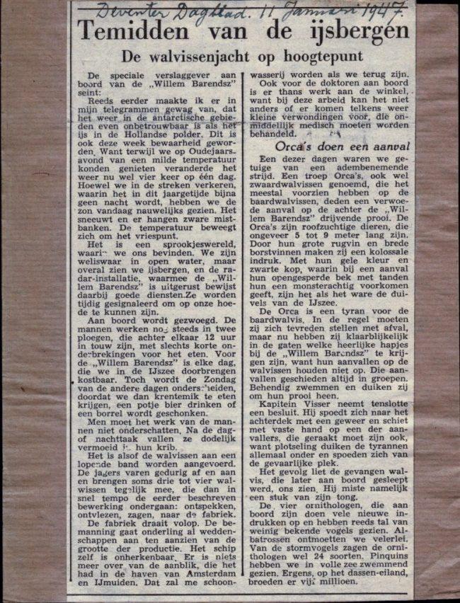 11 januari 1947
