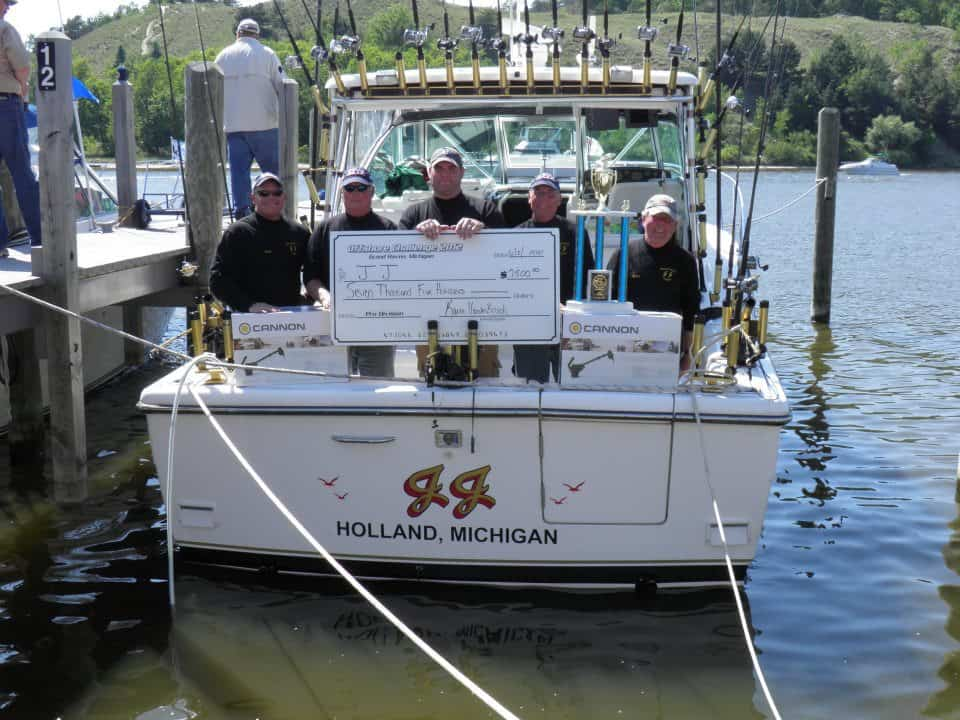 Lake Michigan charter boat