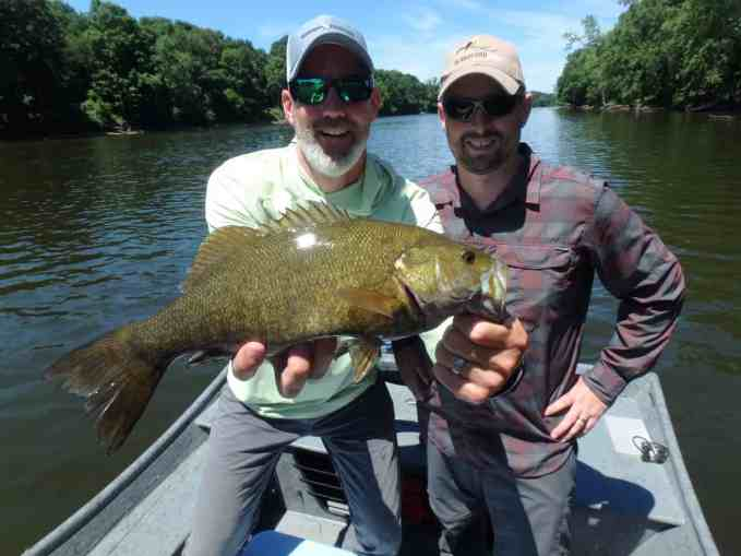Grand River Smallie near Grand Rapids