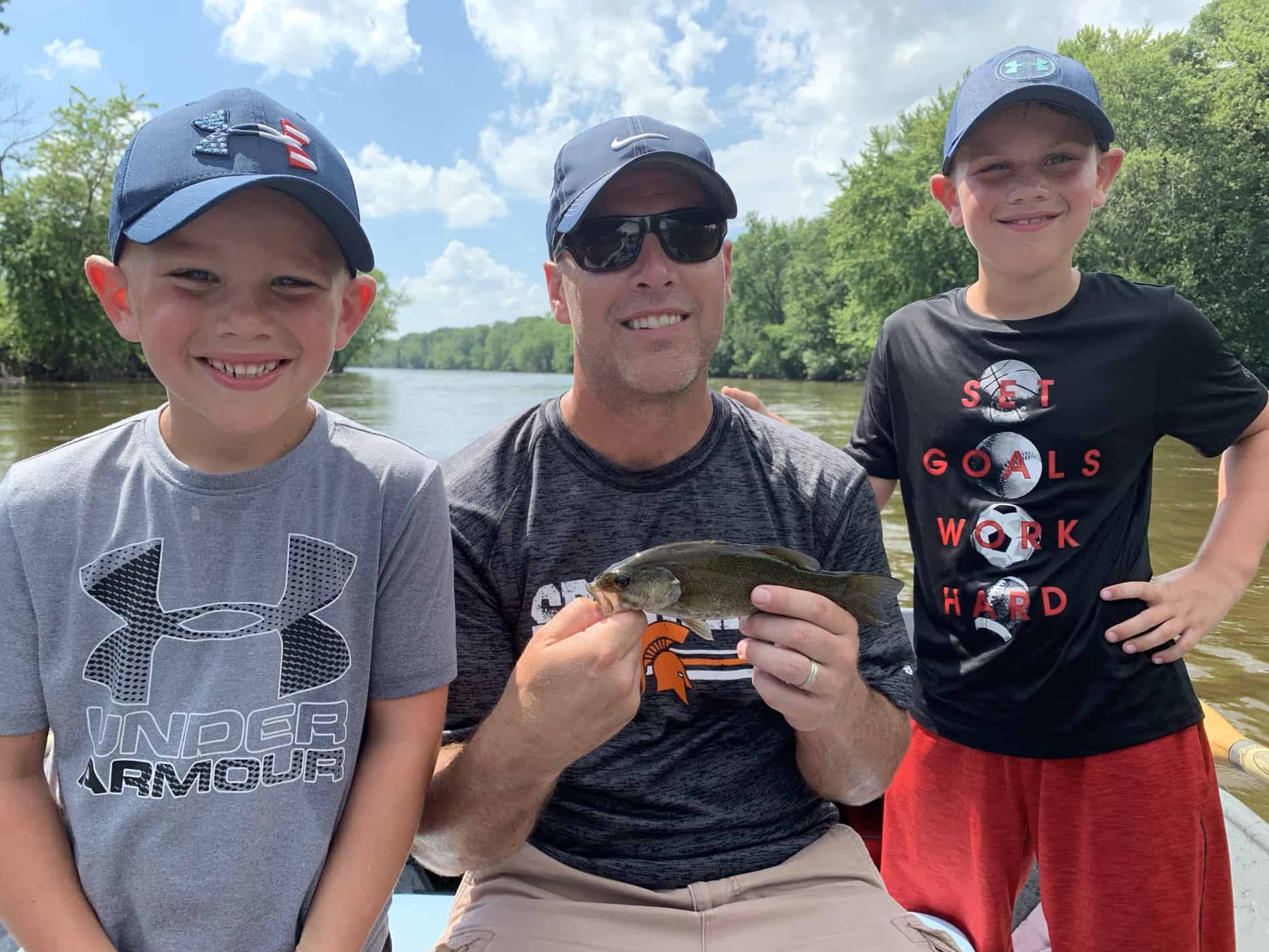 Smallmouth Bass Grand River Fishing Report