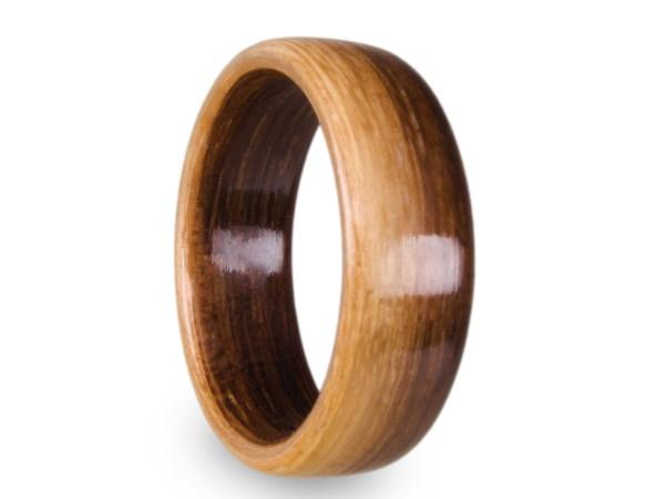 Holzring aus Räuchereiche Transition