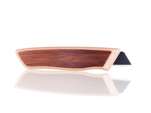 Holzcutter aus Nussbaum