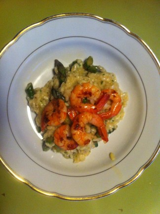 fertiges Risotto