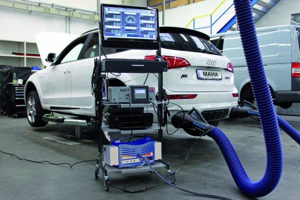 MAHA MET 6.1 AU-Messgerät Benzin