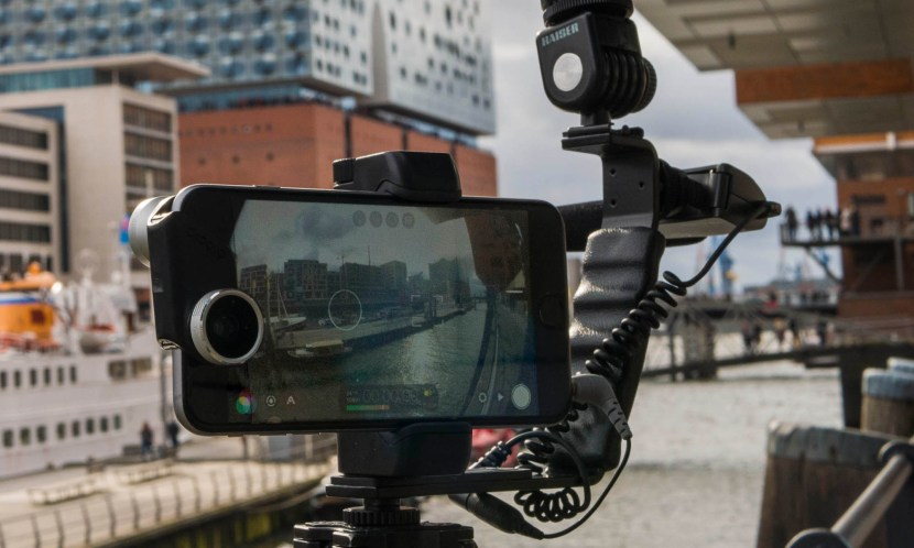 Smartphone Videos Produktion mit Filmic Pro und iPhone 6plus