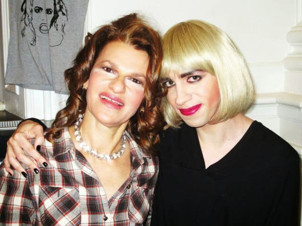 Tranna and Sandra Bernhard