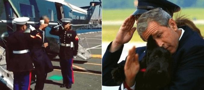 obama-vs-bush-salute