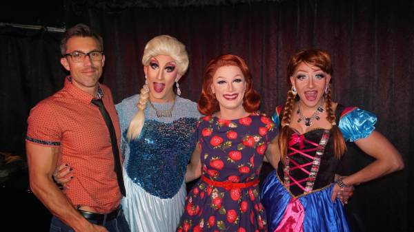 Backstage 'Berry: Sutton Lee Seymour & Cacophony Daniels at Don't Tell Mama 104