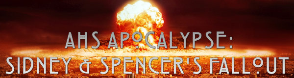 AHS APOCALYPSE: Sidney & Spencer's Fallout (Episode 9: Fire and Reign) 73
