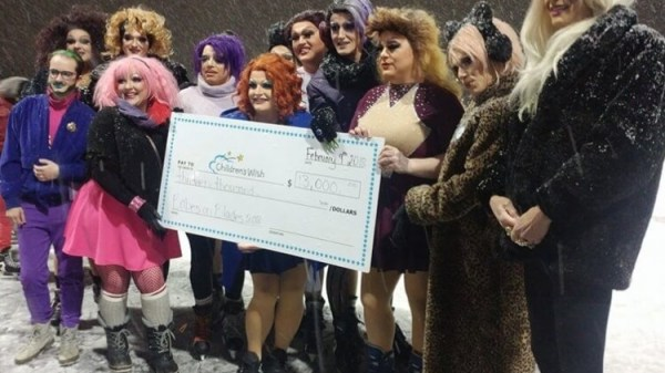 Canadian Queens Take To The Ice For Charity 74