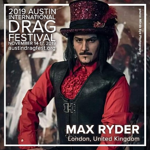 Austin International Drag Festival Headliner Announcement: Max Ryder 73