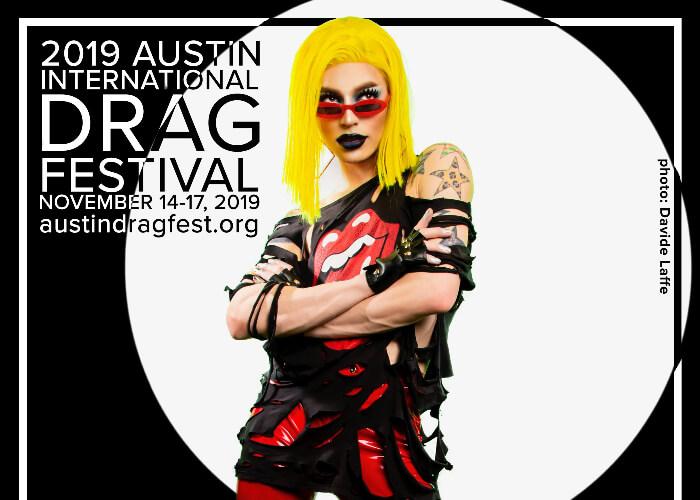 Austin International Drag Festival Headliner Announcement: James Majesty 72