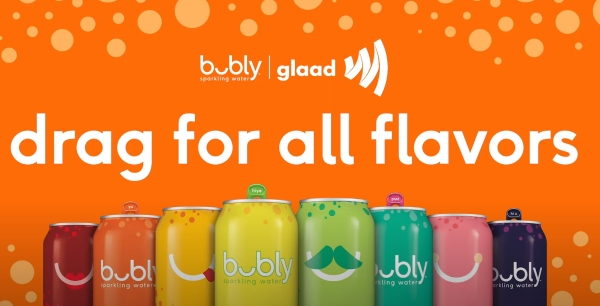 Bubly Partners with GLAAD and NYC Drag Stars for #dragforallflavors Campaign 150