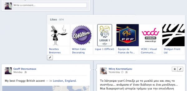 Likes - Pages you Liked