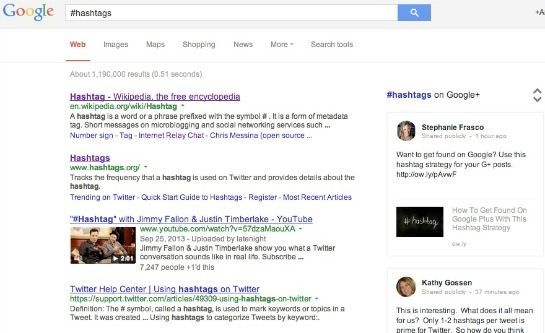 googlehashtags